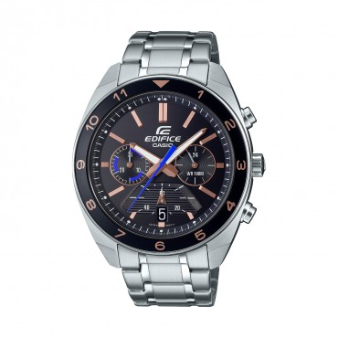 Casio Men's Standard Chronograph Stainless Steel Watch