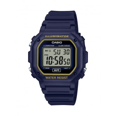 Casio Men's F108WH Illuminator Collection Blue Digital Watch