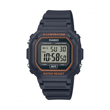 Casio Men's F108WH Illuminator Collection Black Digital Watch