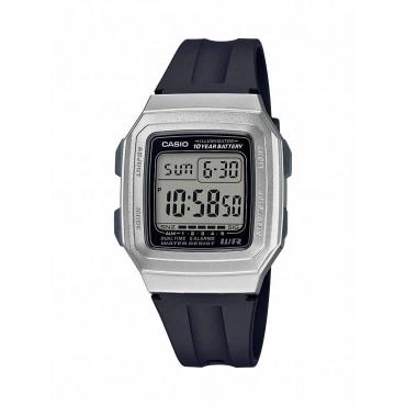 Casio Men's F-201WAM-7AVCF Classic Digital Black/Silver Watch