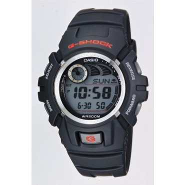G-Shock G2900F-1V Men's Black Resin Sport Watch