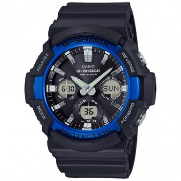 Casio Men's GAS100B-1A2 G-Shock Tough Solar Watch