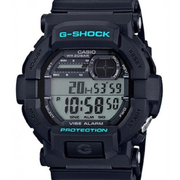 G-Shock GD350-1CCR Men's Black Resin Sport Watch