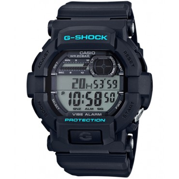 Casio Men's G-Shock Alarm World Time Black Watch