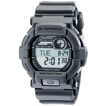 Casio Men's GD350-8 Black Resin Sport Watch