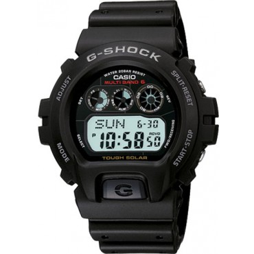 "Casio Men's GW6900-1 """"G-Shock"""" Tough Solar Digital Sport Watch"