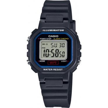 Casio Women's 'Classic' Quartz Resin Casual Watch, Color Black (Model: LA-20WH-1CCF)