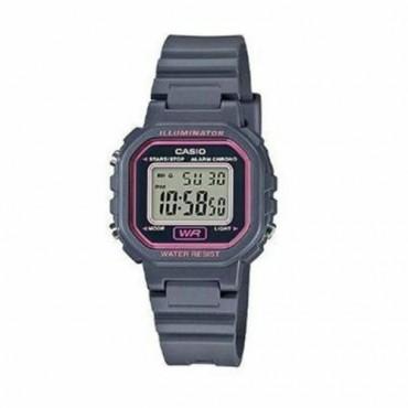 Casio Women's 'Classic' Quartz Resin Casual Watch, Color Grey (Model: LA-20WH-8ACF)