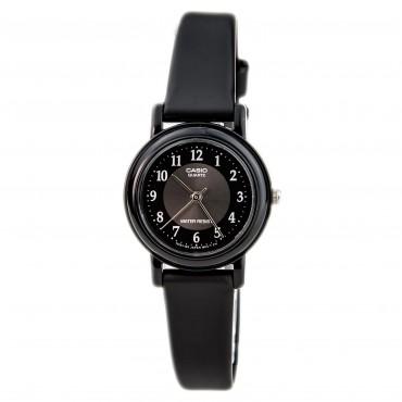 Casio Women's 'Classic' Quartz Resin Casual Watch, Color:Black (Model: LQ139A-1)