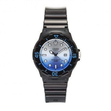 Casio Women's 'Dive Series' Quartz Resin Casual Watch, Color:Black (Model: LRW-200H-2EVCR)