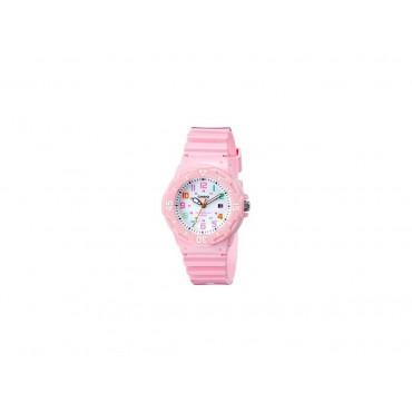 Casio Women's LRW200H-4B2VCF Pink Resin Band Watch