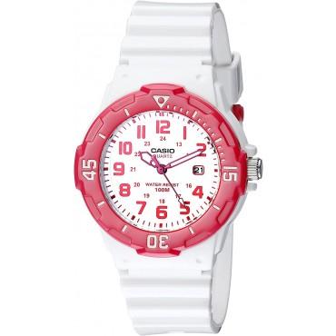Casio Sports 3-Hand Analog White Dial Women's Watch