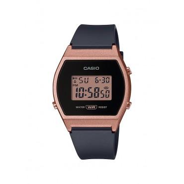 Casio Women's Quartz Sport Watch with Resin Strap, Black, 21 (Model: LW-204-1ACF)