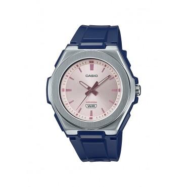 Casio Ladies LWA300H-2EV Stainless Analog Blue Resin Strap Watch