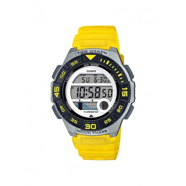 Casio LWS1100H-9AV Women's Yellow Digital Watch