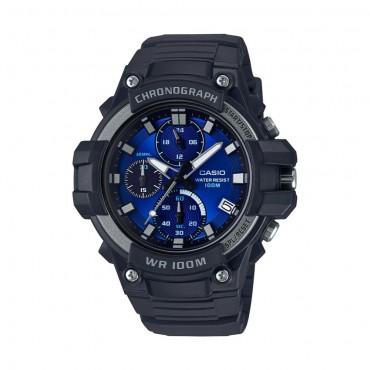 Casio Men's 'Heavy Duty' Quartz Stainless Steel and Resin Casual Watch