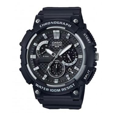 Casio Men's 'Retrograde' Quartz Resin Casual Watch