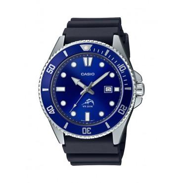 Casio Men's Diver Inspired Black Resin Strap Watch