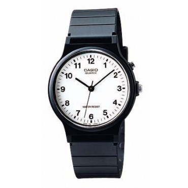 Casio Unisex Analog Black Resin Watch