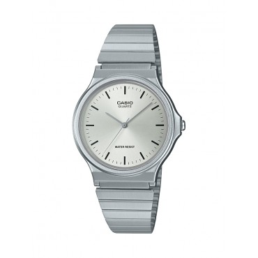Casio Analog Watch with Stainless Steel Band