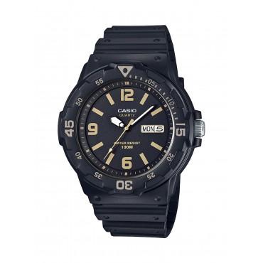 Casio Men's 'Classic' Quartz Resin Casual Watch, Color Black (Model: MRW-200H-1B3VCF)