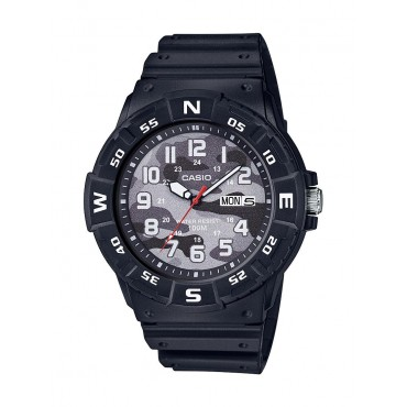 Casio Rotating Compass Bezel with Camouflage Dial
