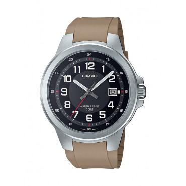 Casio Men's MTPE190-1BV Military Analog Tan Resin Strap Watch