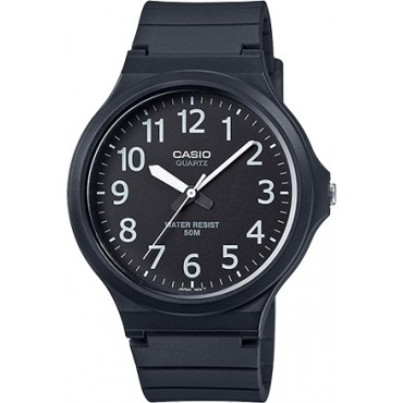 Casio Men's 'Easy To Read' Quartz Black Casual Watch (Model: MW240-1BV)