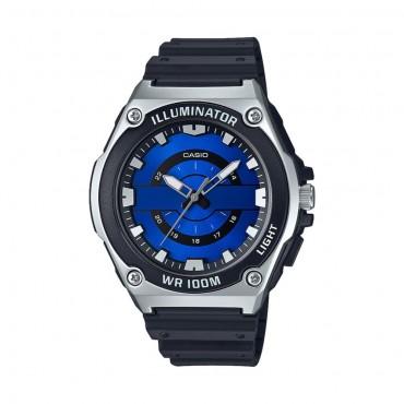 Casio Men's Analog Blue Dial Illuminator Watch