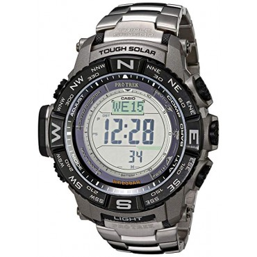 Casio Men's PRW3500T-7CR Pro Trek Tough Solar Digital Sport Watch