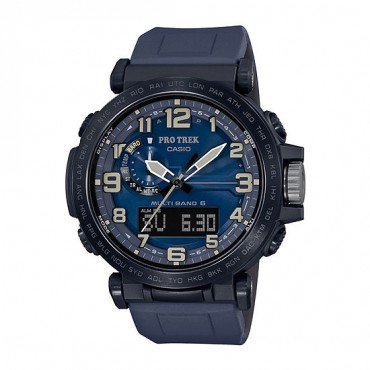 Casio Pro Trek Men's Atomic Time Blue Strap Watch