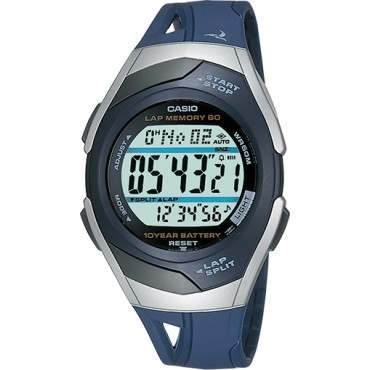 Casio Women's STR300C-2V Runner Series 60-Lap Digital Chronograph Watch