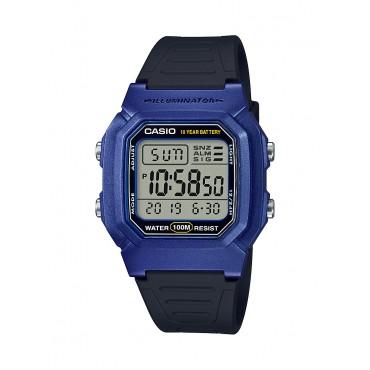 Casio Men's Dual Time Digital Blue/Black Watch