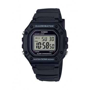 Casio Men's W218H-1A Black Digital Watch