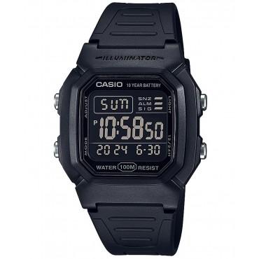 Casio Mens W800H-1BV Classic Digital Sport Watch