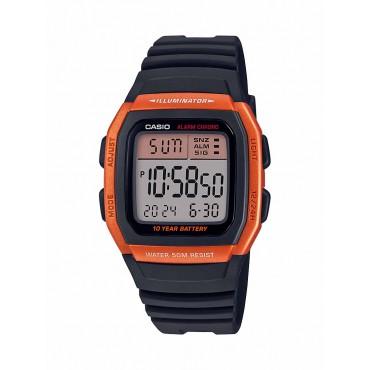 Casio Men's W-96H-4A2VCF Classic Digital Display Quartz Black Watch