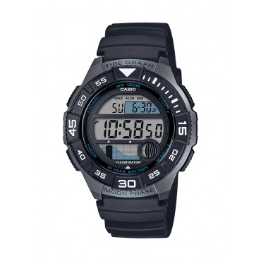Casio Men's Sport Marine Watch, Black WS1100H-1AV