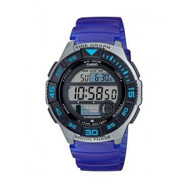 Casio Men's Sport Marine Watch, Blue WS1100H-2AV
