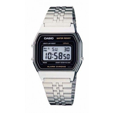 Casio Mens Classic Stainless Steel Digital Watch