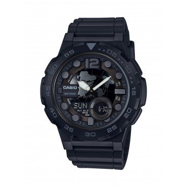 Casio Men's Black Ana-Digi Watch