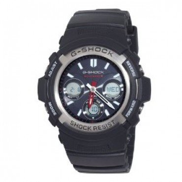 "Casio Men's AWGM100-1ACR ""Atomic G-Shock"" Watch"