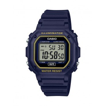 Casio Men's F108WH Illuminator Collection Blue Digital Watch