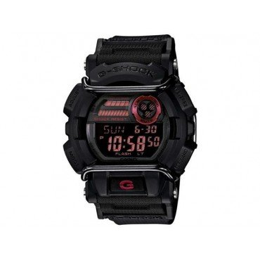 G-Shock GD400-1CR Men's Black Resin Sport Watch