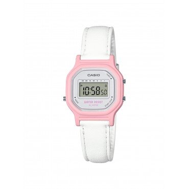 Casio Women's 'Classic' Quartz Resin Casual Watch, Color White (Model: LA-11WL-4ACF)