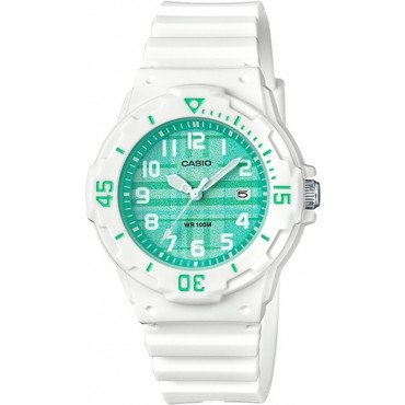 Casio Womens Sport Green Dial Diver Style Watch