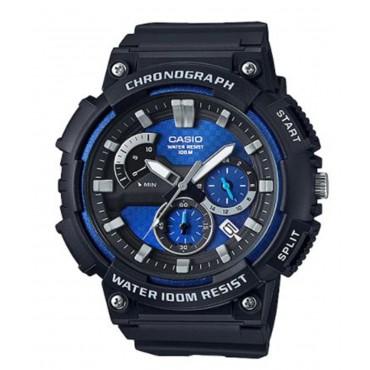 Casio Men's 'Retrograde' Quartz Resin Casual Watch, Color:Black (Model: MCW-200H-2AVCF)