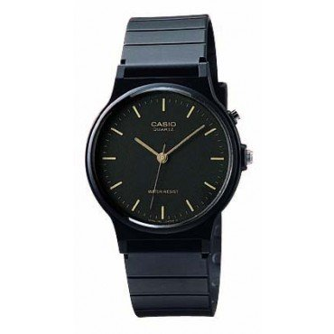 Casio Mens Watch with Black Resin Band