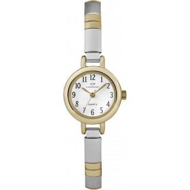 Viewpoint by Timex CC3D83100 Women's Two-Tone Stainless Steel Expansion Band Watch