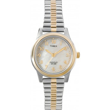 Timex T2M828 Women's Gold-tone Stainless Watch