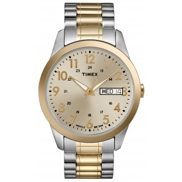 Timex T2M935 Men's Two-Tone Stainless Watch